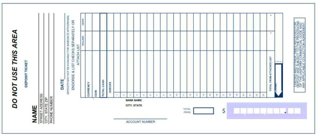 deposit slip template 222