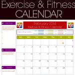 9+ Fitness Calendar Templates