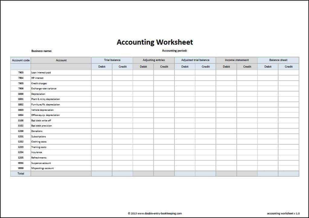 accounting excel template 9874