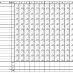 8+ Printable Baseball Scorecard Templates