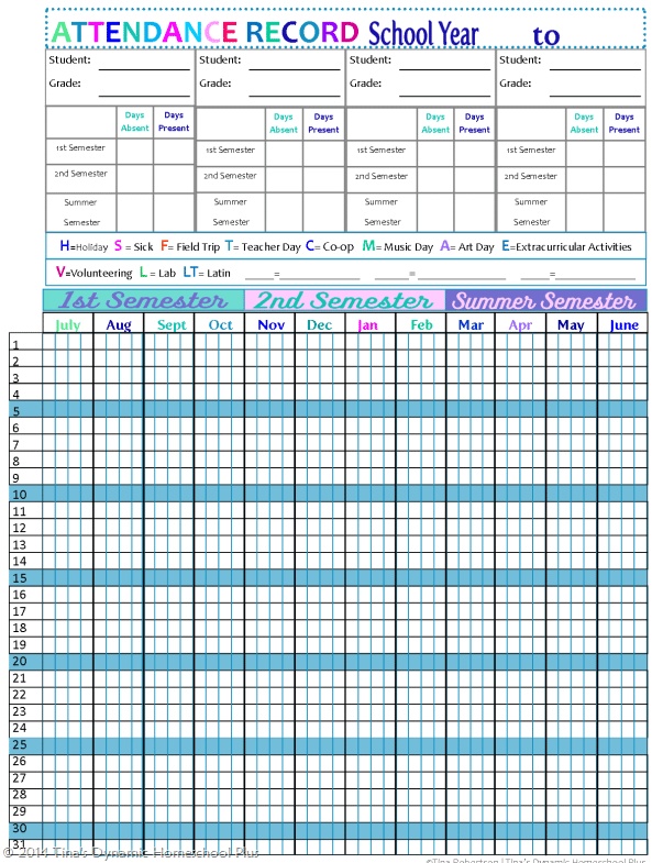 monthly attendance sheet template 222