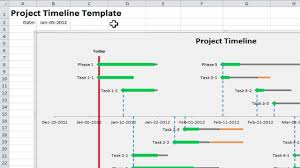 9+ Project Timeline Excel Templates