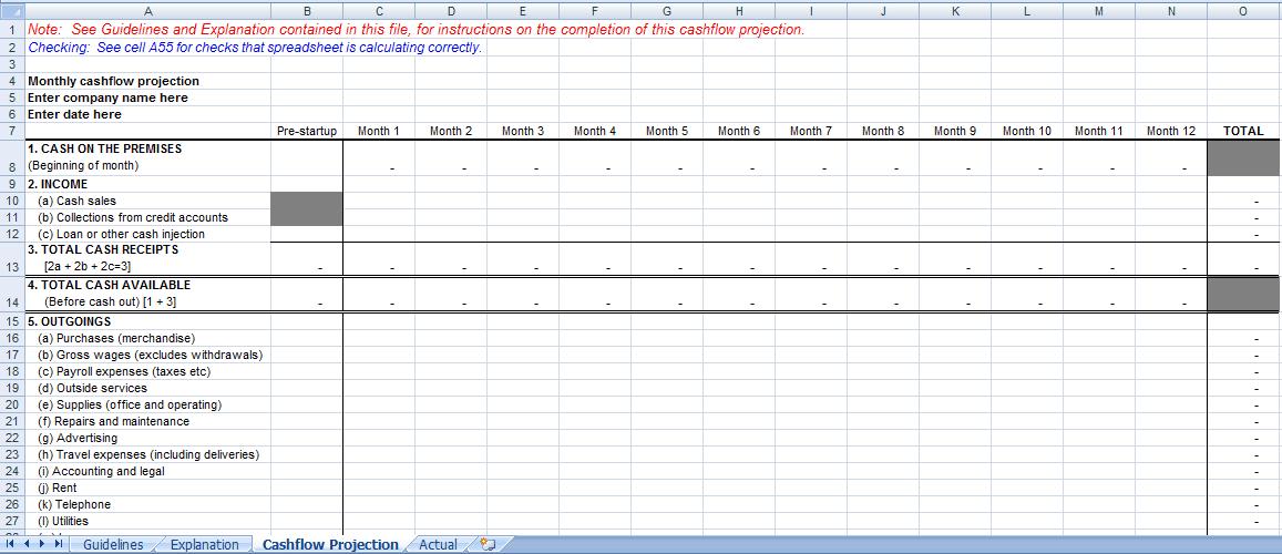 spreadsheet template 44